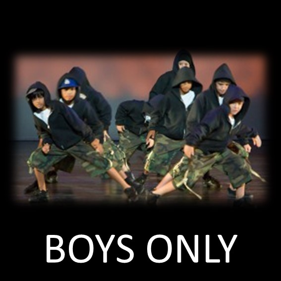 BOYS ONLY DANSSTILAR