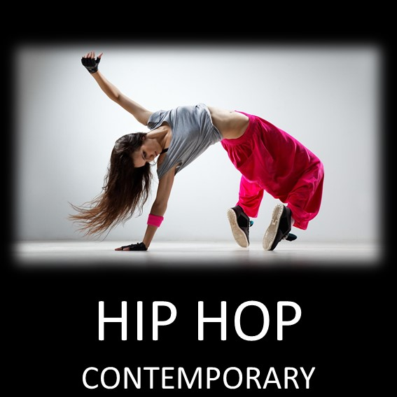 HIP HOP CONTEMPORARY DANSSTILAR