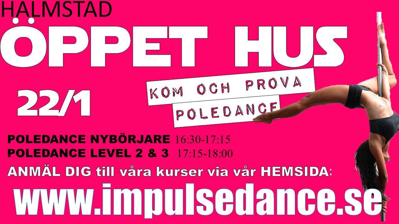 POLEDANCE ÖPPET HUS